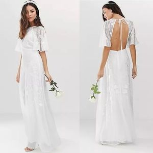 ASOS EDITION Mia Embroidered Wedding Dress